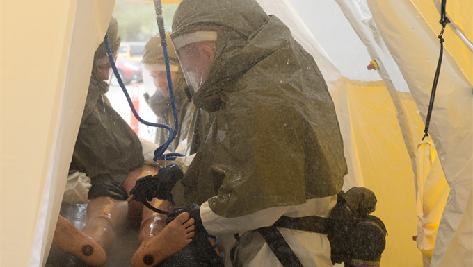 55th MDG tests new patient decontamination systems