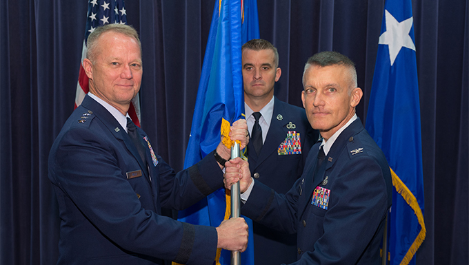 557th WW welcomes new commander