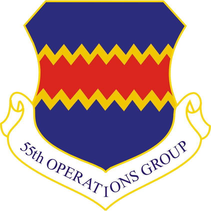 55th Operations Group shield
